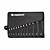 12-delni set viličasto obročnih ključev 6mm - 22mm v priročni torbi; Promat