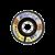 Lamelni brusni disk Profi 125 x 22 Z120 za JEKLO in INOX