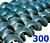Polžna spirala 300 x 300 x 76 x 6/3