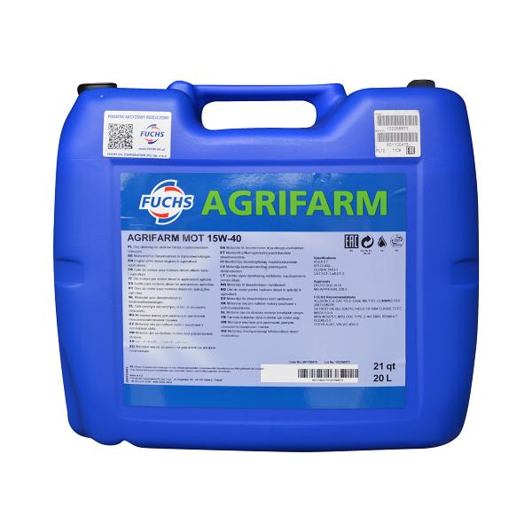 AGRIFARM MOT 15W-40 10L