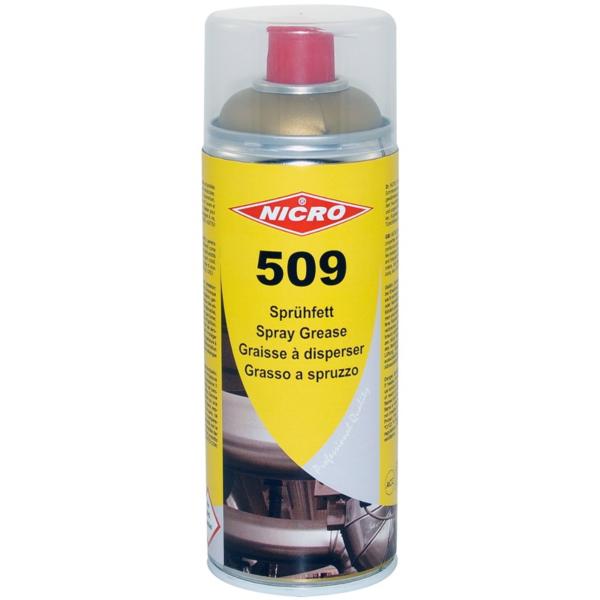 NICRO 509, večnamenska mast v spreju, 400ml