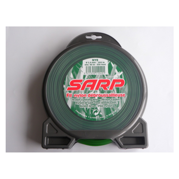 Nylon nitka okrogla, 2,4 x 90m, SARP