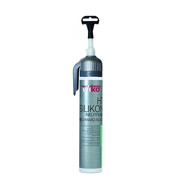 WIKO HT SIOS K200 ČRN - Visokotemperaturno silikonsko tesnilo