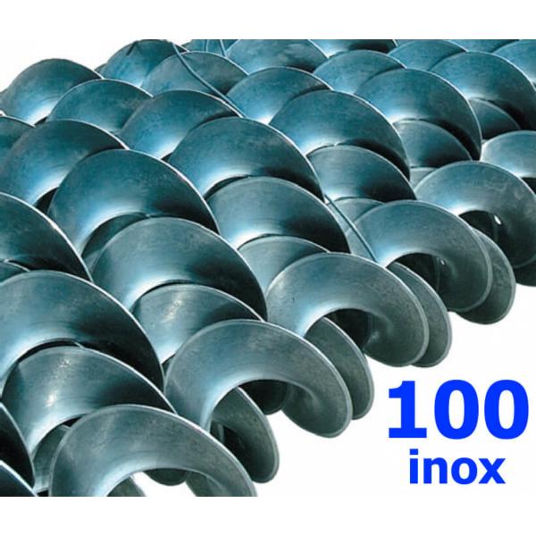 Polžna spirala 100 x 100 x 26,8 x 3/1,5 INOX