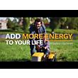 STIGA battery-powered lawn trimmer SGT 500 AE
