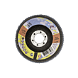 Lamelni brusni disk Profi 115 x 22 Z80 za JEKLO in INOX