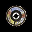 Lamelni brusni disk Premium 115 x 22 Scotch-Brite, srednje grob, za JEKLO in INOX