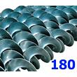 Polžna spirala 180 x 180 x 48 x 6/3