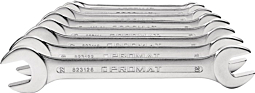 10-delni set viličastih ključev 6mm - 27mm; PROMAT