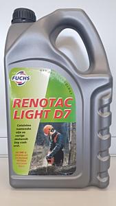 RENOTAC LIGHT D7, olje za verižne žage, 5L